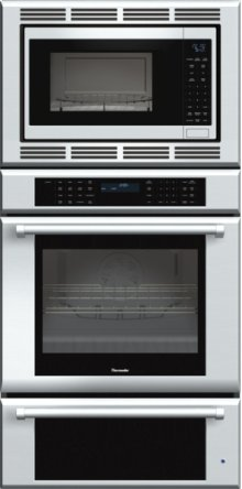 30-Inch Masterpiece® Triple Oven with Professional Handle MEDMCW31JP