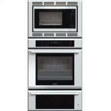 30 inch Masterpiece® Series Triple Oven (oven, convection microwave and warming drawer) with professional handle***FLOOR MODEL CLOSEOUT PRICING***