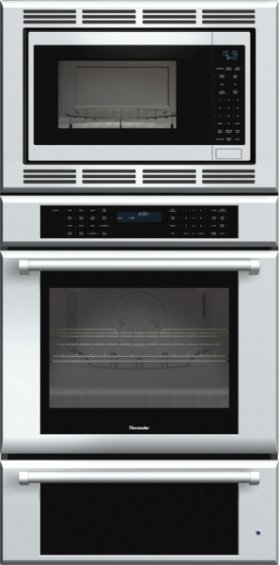30 inch Masterpiece® Series Triple Oven (oven, convection microwave and warming drawer) with professional handle MEDMCW31JP