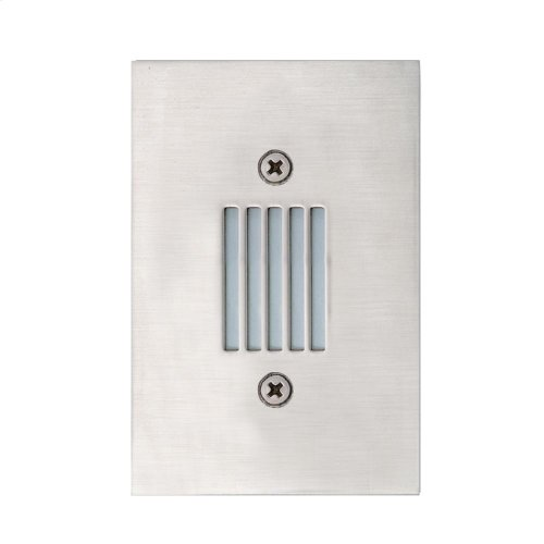 INWALL,0.4W LED - Stainless Steel