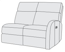Maddux Right Arm Power Motion Loveseat