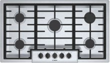 "500 Series 36"" 5 Burner Gas Cooktop, NGM5656UC, Stainless Steel"