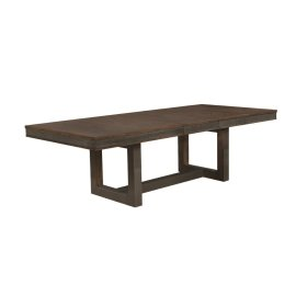 Atwater Industrial Vintage Bourbon Dining Table