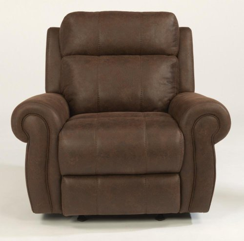 Forrest Fabric Power Gliding Recliner with Power Headrest