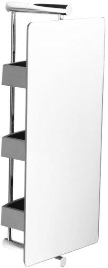 Chrome Plate Storage 360 unit - 3 shelves