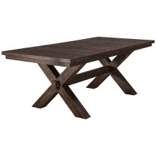 Park Avenue Extension Trestle Dining Table