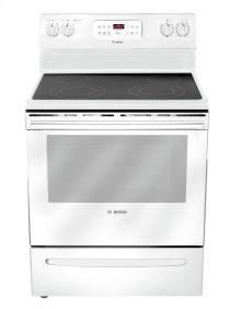 "30"" Electric Freestanding Range 300 Series - White HES3023U"