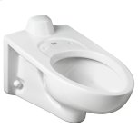 American StandardAfwall Millennium 1.1-1.6 gpf Back Spud Elongated Toilet Bowl  American Standard - White