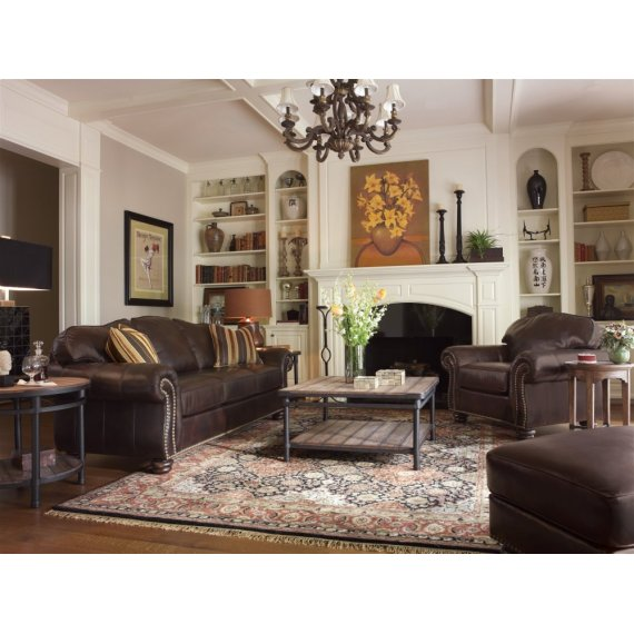 364831 in by Flexsteel in Boise, ID - Bexley Leather Sofa with ...
