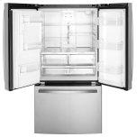 GE ®energy Star® 25.6 Cu. Ft. French-Door Refrigerator