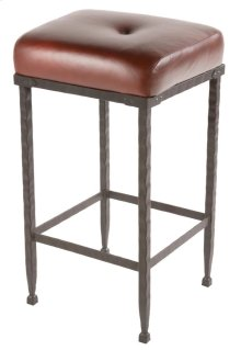 Forest Hill Iron Bar Stool with No Back