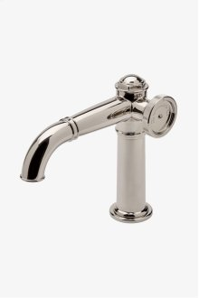 On Tap One Hole High Profile Bar Faucet with Metal Wheel Handle STYLE: OTKM01