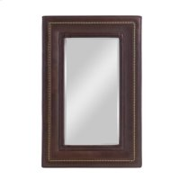 Hughes Upholstered Mirror Vertical Product Image