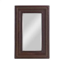 Hughes Upholstered Mirror Vertical