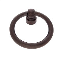 """Old World Bronze 1-1/2"""" Ring Pull"""