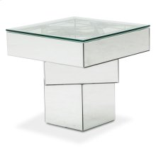 End Table W/ Glass Top
