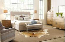 Hygge by Rachael Ray Complete Upholstered Bed, Queen 5/0
