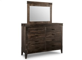 Chattanooga 8 Drawer Long High Dresser