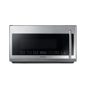 Samsung2.1 cu. ft. Over-the-Range Microwave with Sensor Cooking in Fingerprint Resistant Stainless Steel