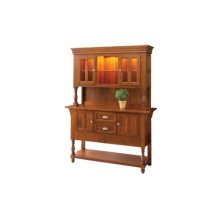 Bedford Sideboard Hutch Side Board & Open Hutch