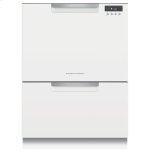 Fisher & PaykelDouble DishDrawer Dishwasher, Tall, Sanitize