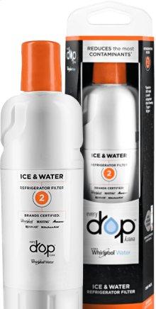 EveryDrop Ice & Water Refrigerator Filter 2
