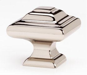 Geometric Knob A1525 - Polished Nickel