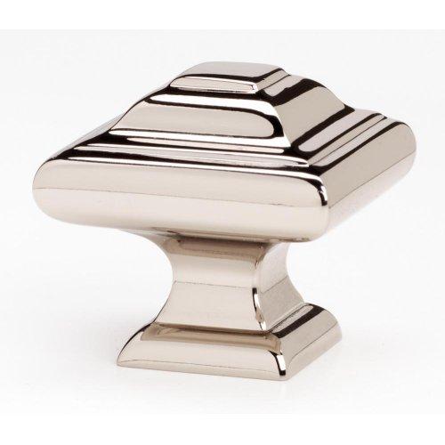 Geometric Knob A1525 - Polished Nickel