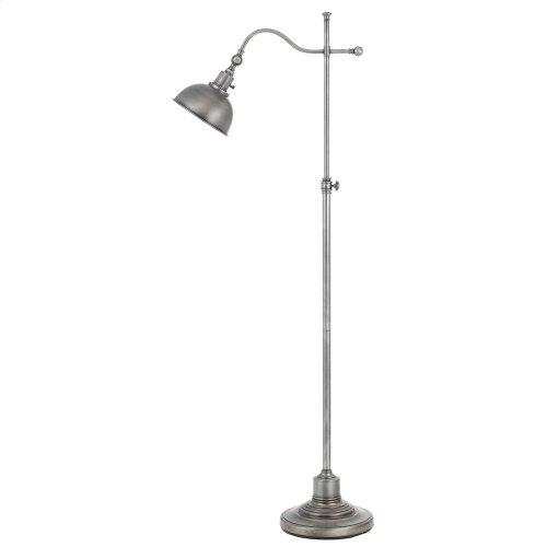 60W Portico Metal Adjust able Floor Lamp With Metal Shade