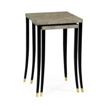 Bone Eggshell Nesting Tables