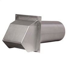 Exterior Inlet/Outlet Hood, 6""