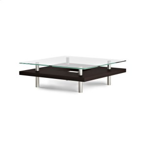 Bdi FurnitureSquare Coffee Table 2300 in Espresso