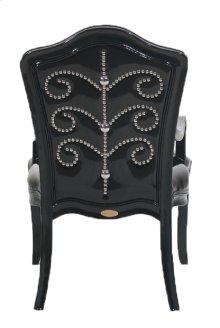 Diablo Black Chair