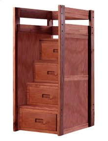 Four Step Staircase w/Drawers