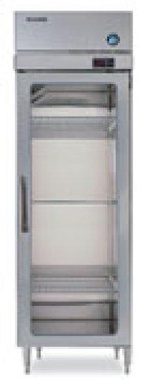 RH1-SSB-FG TempGuard® Glass Door Refrigerator Series