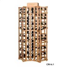 Apex 6' Curved Corner Modular Wine Rack