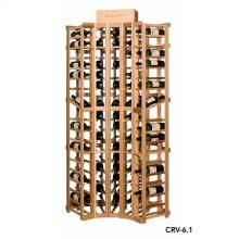 Apex 6' Curved Corner Modular Wine Rack