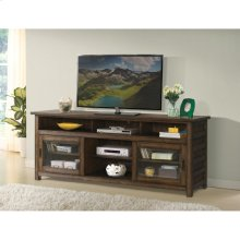 Perspectives - 74-inch TV Console - Brushed Acacia Finish