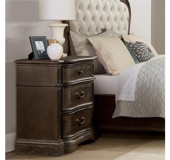 24969 In By Riverside In Mesa, AZ   Verona Three Drawer Nightstand Dark  Sienna Finish