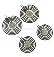 "30"" GE & HOTPOINT Free-Standing Range Sensi-Temp Coil Kit 2-6""+2-8"" Product Image"