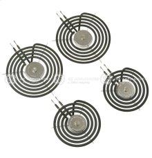 """30"""" GE & HOTPOINT Free-Standing Range Sensi-Temp Coil Kit 2-6""""+2-8"""""""