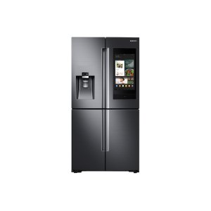 Samsung28 cu. ft. Family Hub™ 4-Door Flex™ Refrigerator in Black Stainless Steel