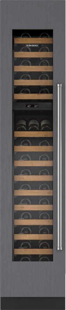 18" Integrated Wine Storage - Panel Ready