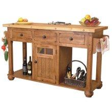 Sedona Kitchen Island Table