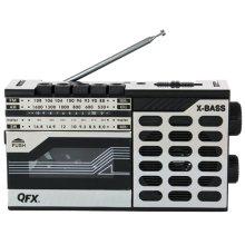 Rerun Retro Radio and Cassette Recorder/player