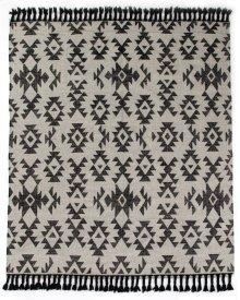 9'x12' Size Mosaic Grey Rug