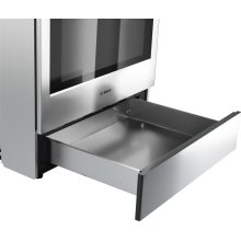 Dual Fuel Slide-in Range 30'' Stainless steel
