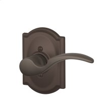 St. Annes Lever with Camelot Trim Non-Turning Lock - Oil Rubbed Bronze