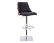 Braiden Adjustable Barstool - Onyx Product Image