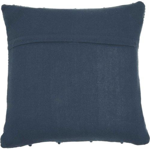 "Life Styles Dc173 Navy 20"" X 20"" Throw Pillows"